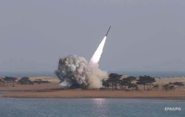 КНДР произвела очередной пуск баллистической ракеты