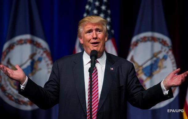 Трамп значно відстав від Клінтон за популярністю