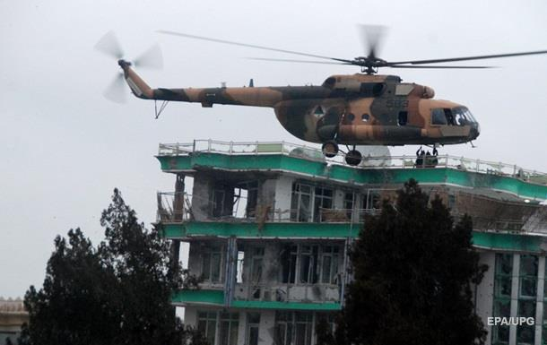 В Афганистане упал военный вертолет - СМИ