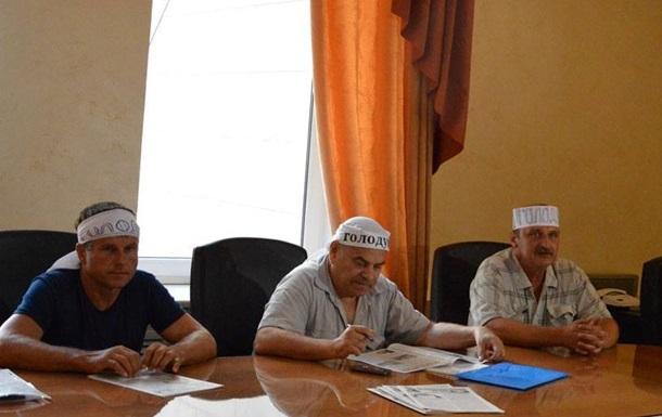 Шахтеры Донецкой области объявили голодовку