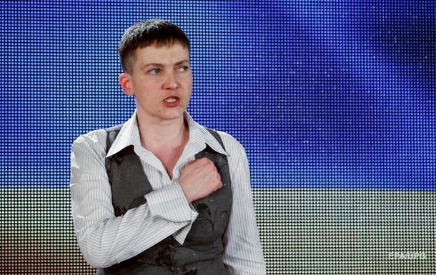 Савченко заявила, що час закінчувати АТО