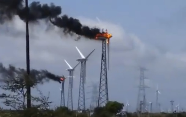 В Індії загорілася електростанція