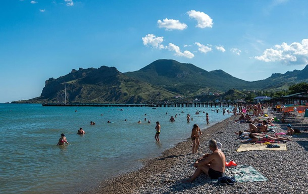 В Крыму заявили о росте числа украинских туристов
