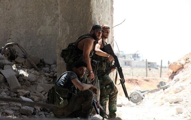 Сирийская армия отбила атаку на военную базу