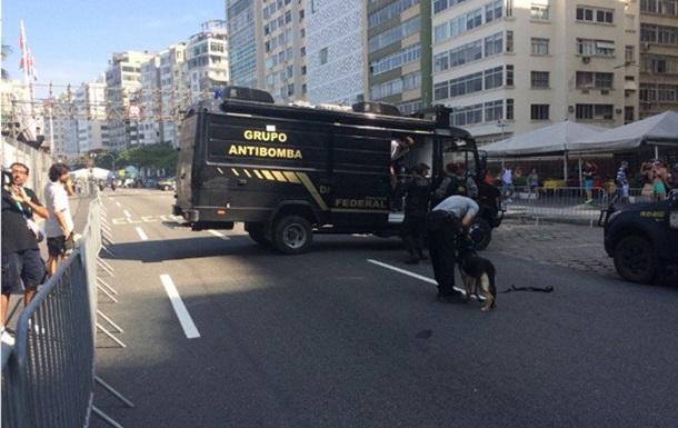 На Олімпіаді у Ріо прогримів вибух