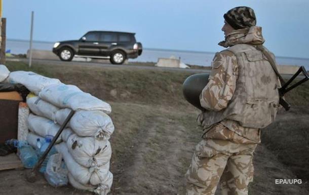 В Крыму устанавливают блокпосты – СМИ