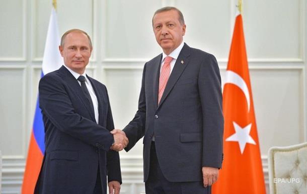 Ердоган  покарає  Захід Росією - FT