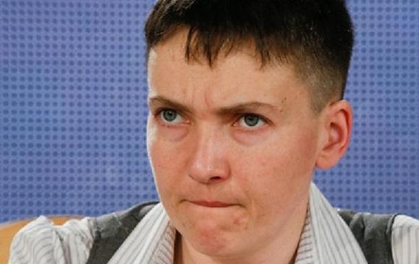 Савченко проводит митинг, требуя освободить военнопленных