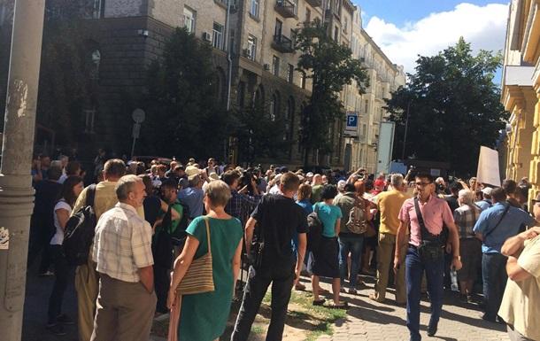 На митинг Савченко стянули более тысячи силовиков