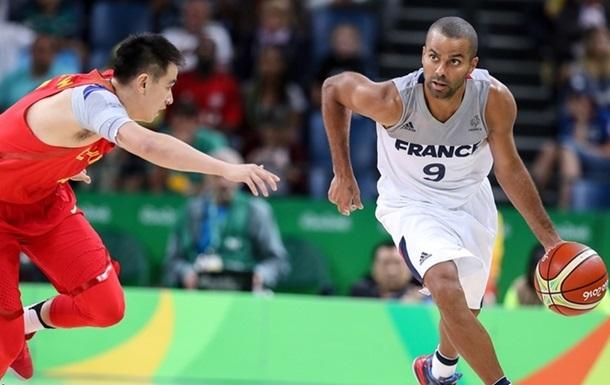 Баскетбол. Франция разбивает Китай