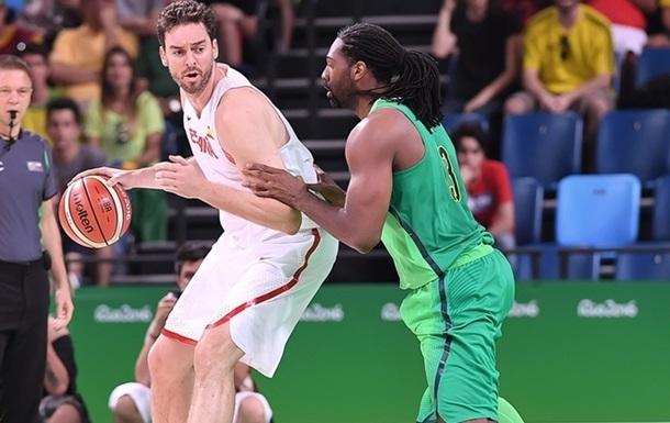 Баскетбол. Іспанія знову поступається