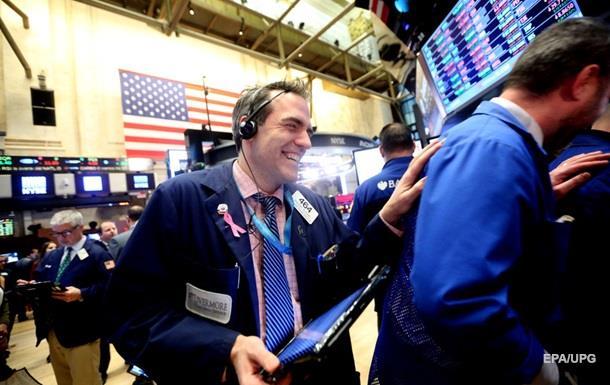 Торги на біржах США продемонстрували зростання