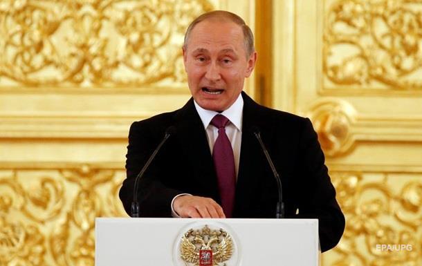 Путін звинуватив Україну в переході до терору