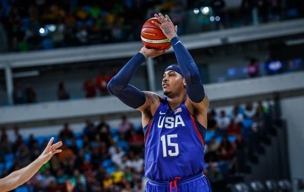 Баскетбол. США обігрує Австралію