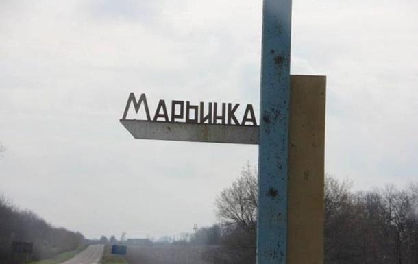 обстрел Марьинки