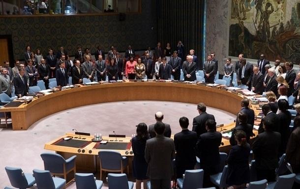 Украина инициирует консультации в Совбезе ООН