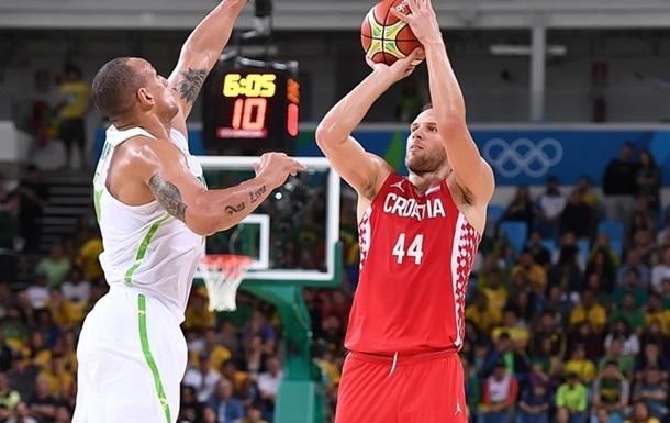 Баскетбол. Хорватія дотискує Бразилію