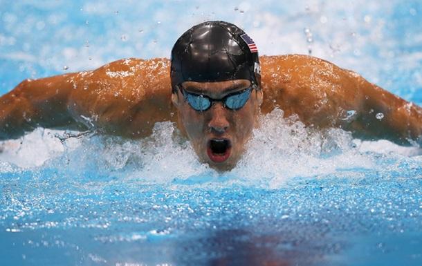 Плавание. Американец Фелпс выигрывает 22 золото Олимпийских игр