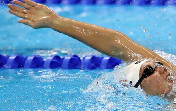 Плавание. Украинка Зевина не смогла пробиться в финал