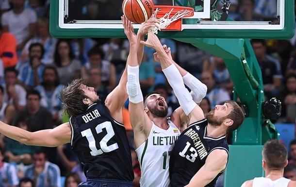 Баскетбол. Литва впоралася з Аргентиною