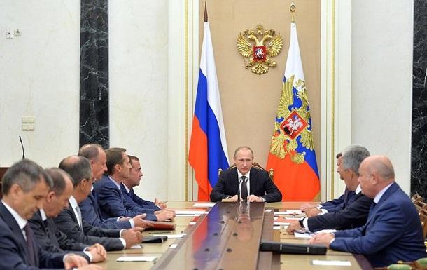 Путін оновив склад Ради безпеки Росії