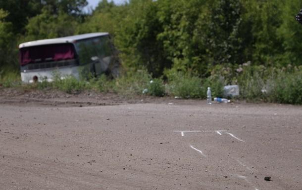В ЛНР попал в аварию автобус из Москвы