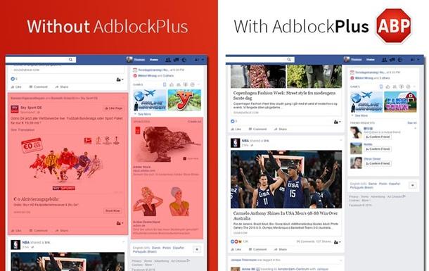 AdBlock  кинув виклик  Facebook