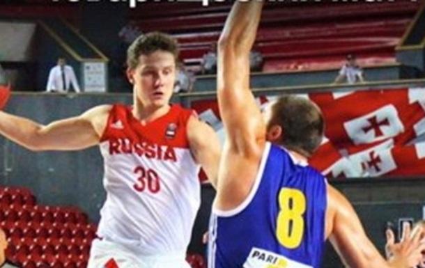 Україна поступається в першому матчі на турнірі в Грузії