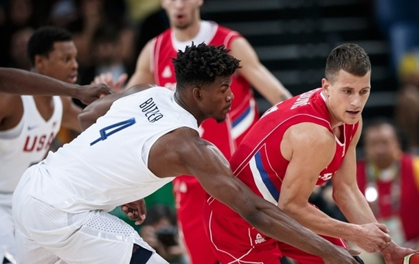 Баскетбол. Збірна США насилу перемагає сербів, Франція знищує Венесуелу