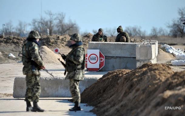 К границе с Крымом подтянули тяжелое вооружение