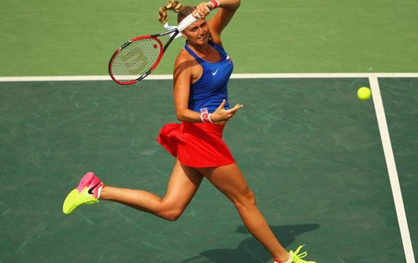 Теннис. Квитова берет бронзу на Олимпиаде