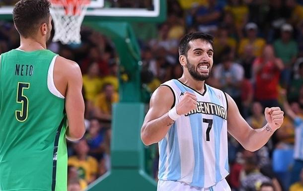 Баскетбол. Аргентина в двух овертаймах дожимает Бразилию