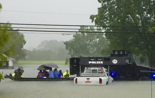 Американський штат Луїзіана постраждав від повені