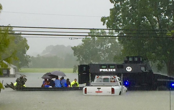 Американский штат Луизиана пострадал от наводнения