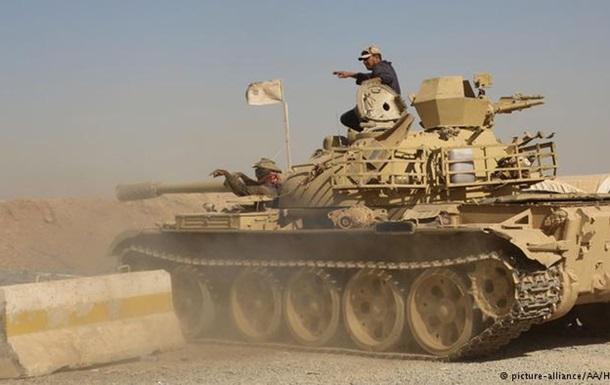Курды начали наступление на ИГ на севере Ирака