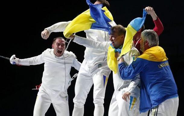 Фехтование. Украинские шпажисты бьют россиян и выходят в полуфинал