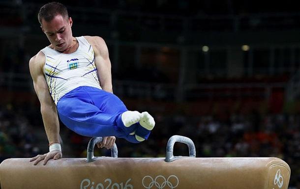 Спортивна гімнастика. Верняєв залишається без медалі на коні