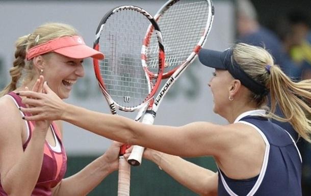 Теннис. Парный разряд. Россиянки обыгрывают швейцарок и берут золото