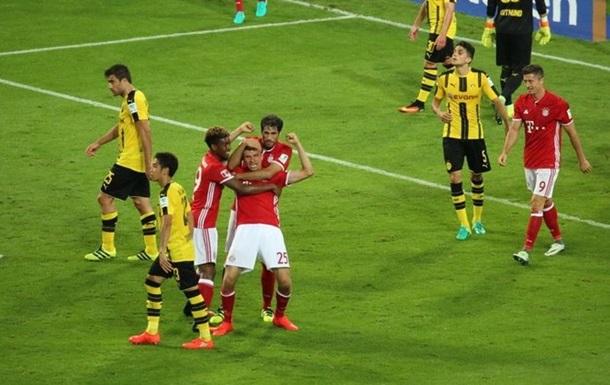 Суперкубок Германии. Бавария сильнее Боруссии