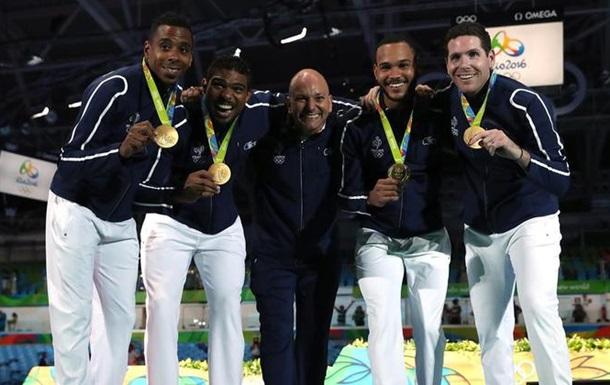 Фехтование. Французы чемпионы в командной шпаге