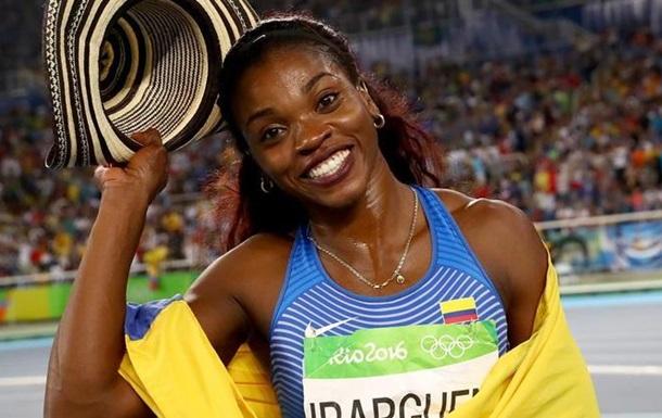 Легкая атлетика. Колумбийка чемпионка в тройном прыжке