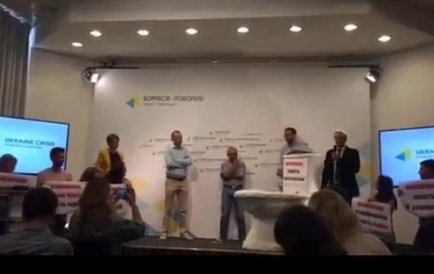 Унитаз в центре Киева как способ борьбы с коррупцией