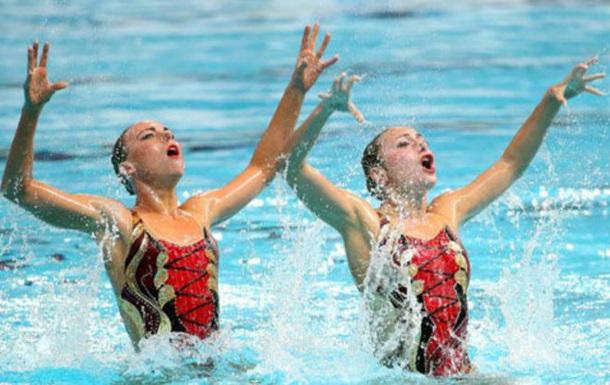 Синхронное плавание. Украинский дуэт - в финале