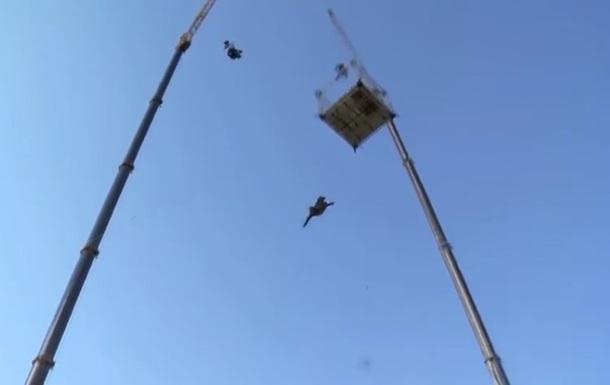 Каскадер выполнил  прыжок веры  для съемок  Кредо убийцы