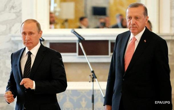 Путін: Щиро прагнемо відновити відносини з Туреччиною