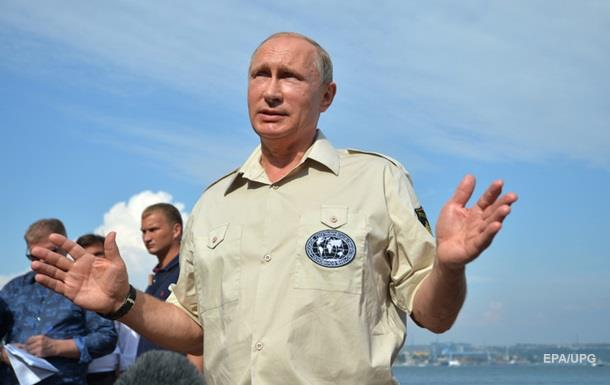 ЗМІ: Путін відвідає Крим після вилову диверсантів