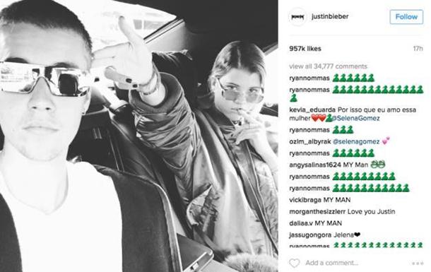 Джастін Бібер видалився з Instagram через критику