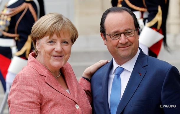 Меркель и Олланд отреагировали на ситуацию в Крыму