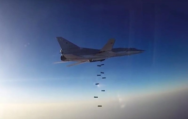 ВКС Росії знову вдарили по Сирії з бази в Ірані