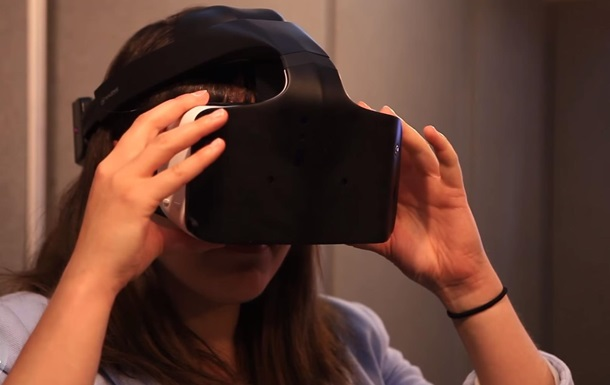 Intel створила шолом віртуальної реальності